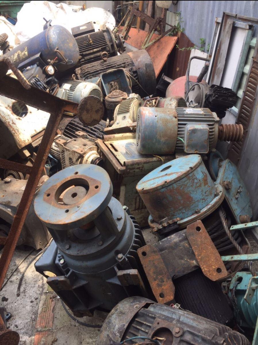 Thu mua phế liệu máy móc tại Tây Ninh