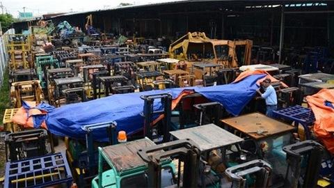 Thu mua máy móc tại Long An