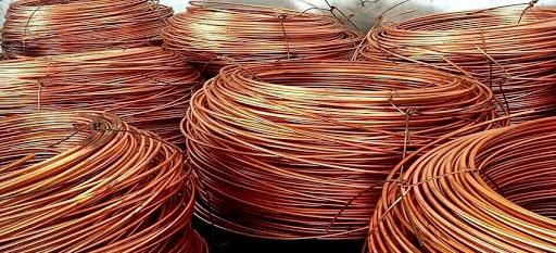 Phế liệu dây điện đồng cháy giá cao